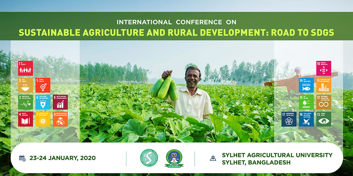 SUSTAINABLE AGRICULTURE AND RURAL DEVELOPMENT: ROAD TO SDGS